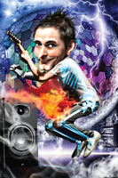 Matthew Bellamy X-Ray Clothes by bouboudesign