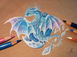 Little ocean dragon by AlviaAlcedo