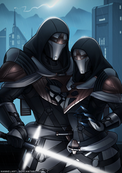 [C] Zi'alitor and Sultana by hannelArt