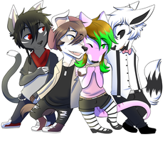 Troublesome Four by NovaBerry