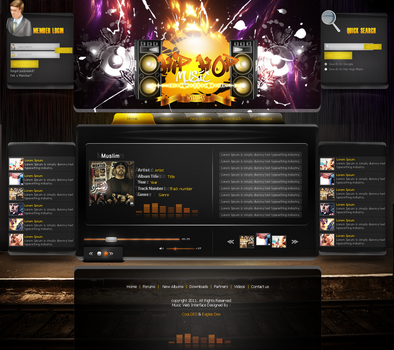 Hip Hop Interface by CoolDes