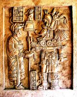Mayan Carving 2 by iseePhotos