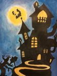 Silhouette themed Halloween by muzeonline