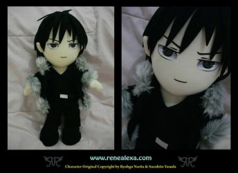 Izaya Orihara by renealexa-plushie