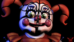 FNaF SFM: Realy Simple Circus Baby render by Mikol1987