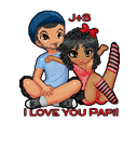 Pixel Art, Sheska and Johnny by LilMissStitches