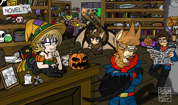Red Army Halloween (Not TBATF related) by Eddsworld-tbatf