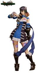 Miriam (Bloodstained) Render by DENDEROTTO