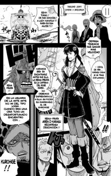 One Piece Airen . D . Karasu Appearance Page 1 by Robot1979