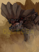 Barroth Fanart by Ollieosa