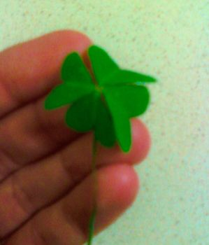 Four Leaf Clover by SilverSoul1496