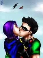 request :robrae kiss by MegS-ILS