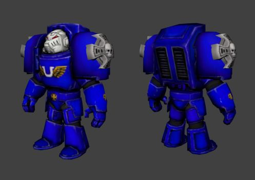 Torchlight 40K Tactical Dreadnought W.I.P. by biew1986
