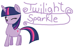Twilight Sparkle by xXkerrysweetXx