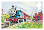 Thomas Railway Series Royal Mail Stamp by KitKat37