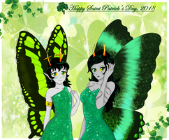 The Color of Fairy and Magic, St.Patrick's 2018 by LuckyLadyXandra