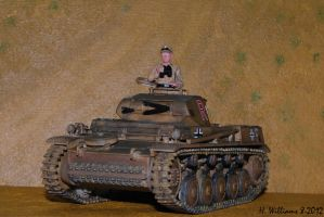 Panzer II G Front by 12jack12