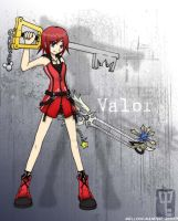 Kairi - Valor Form by mell0w-m1nded