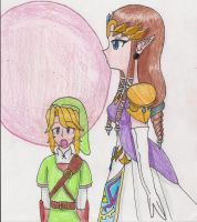 Zelda's Mega Bubble by LilacPhoenix