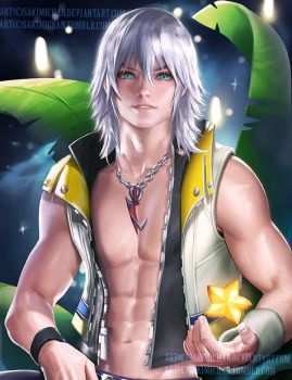 Manly Riku .NSFW available by sakimichan