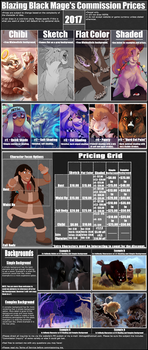 Commission Prices 2017 by BlazingBlackMage