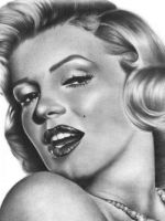 Marilyn - close up by MaPaMe