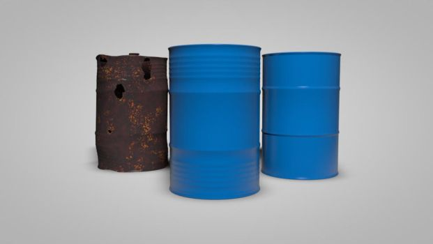 Cinema 4D - Oil Barrels by BlockedGravity