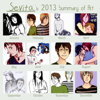 2013 summary of art by boniae