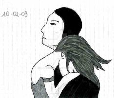 A shoulder to cry on (sketch) by mari6s