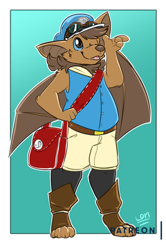 Patreon: New Courier in town! by lemondragon19