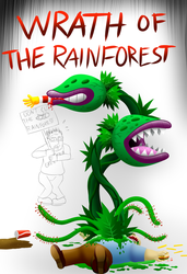 Wrath of the rainforest by Enricthepenguin92