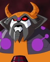 Transformers Animated Unicron by Destron23