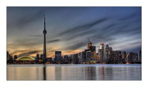 Toronto Twilight by jrstreets