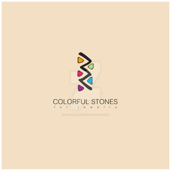 colorful stones-logo by mohammed6651