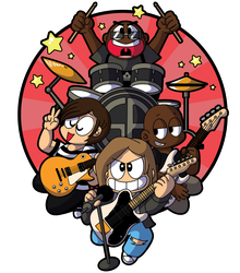Chibi Soul Asylum Revised by xkappax