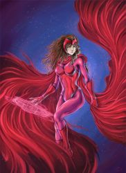Scarlet witch by SpaceWeaver