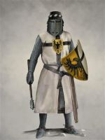 Teutonic Knight by JLazarusEB