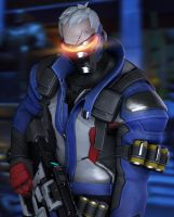 Soldier:76 by Its-Midnight-Reaper