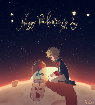 The Little Prince: Valentine's Day by Maru024