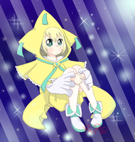 AT: Jirachi for Deency by RedvelvetPierrot