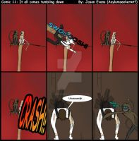 Comic 11 It all comes tumbling down by NonsenseGhost