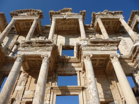 Library of Celsus by JapaneseTeeth