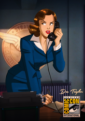Agent Carter by Des Taylor by DESPOP