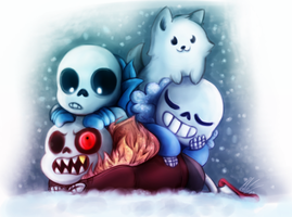 Skelebabs by Laser-Pancakes