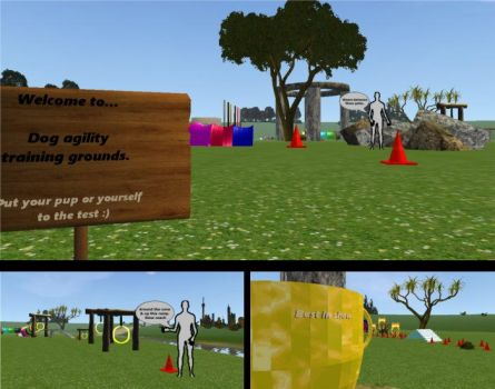 Dog Agility map (FeralHeart) animated trainer by FeralH-Abominations
