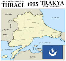 Turkish Republic of Thrace, 1995 by xpnck