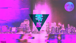 Vaporwave City by vaporwavetings