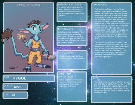 Tip Character Sheet by chill13