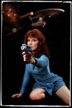 Beverly Crusher Retro Star Trek by gazomg