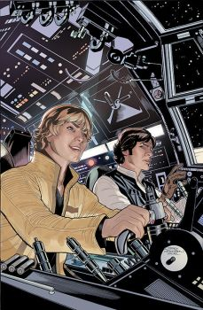 Star Wars 17 Cover by TerryDodson
